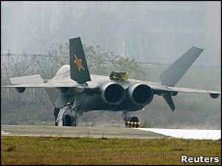 Китайский самолет-неведимка