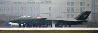 El prototipo del J-20