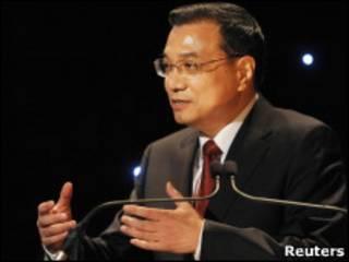 中國副總理李克強周二(11日)出席英中貿易協會主辦的晚宴