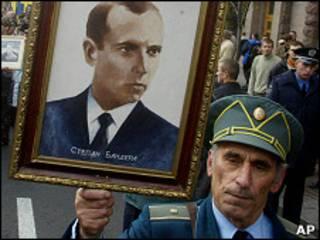 Сторонники Бандеры в Киеве