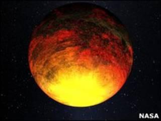 تصویر تخیلی از کپلر 10 بی - ناسا