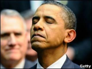 Барак Обама на траурной церемонии в Аризоне