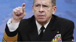 رئيس هيئة الأركان الأمريكية المشتركة الأدميرال مايك مولين