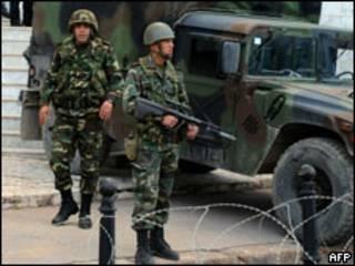 Militares na Tunísia (AFP)