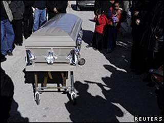 Funeral de Susana Chávez