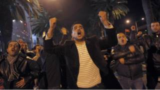 أعمال احتجاجية في تونس