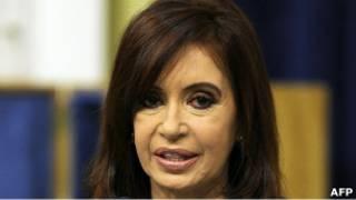 رئيسة الأرجنتين كريستينا فرنانديز