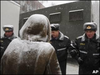Около СИЗО в Минске