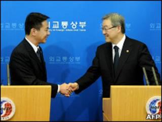 日韓外長會晤