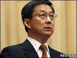 上海市市長韓正(16/1/2011)