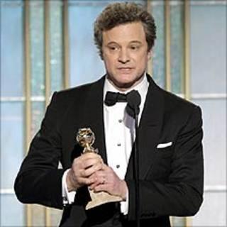 Colin Firth nhận giải Golden Globe