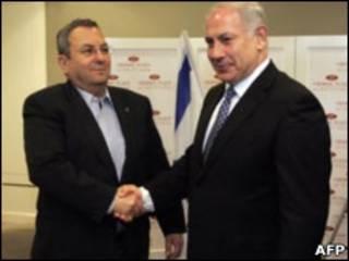 Barak e Netanyahu