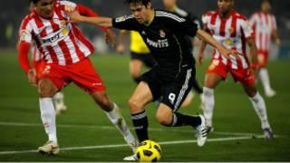 Umukino w'ikipe ya Almeria na Real Madrid ku wa 16/01/11