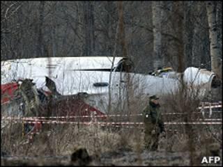 Крушение Ту-154 под Смоленском