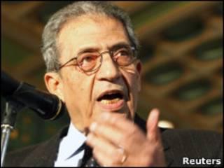 عمرو موسی، دبیرکل اتحادیه عرب