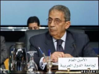 Amr Mousa, magatakardan kungiyar kasashen Larabawa