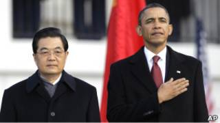 استقبال الرئيس الصيني في البيت الأبيض