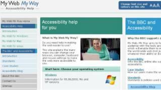 سياسة بي بي سي لإمكانية وصول ذوي الاحتياجات الخاصة