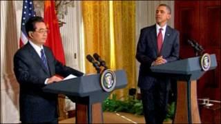 CT Hồ Cẩm Đào và TT Obama (Getty)
