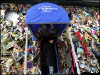 Гостиница из мусора