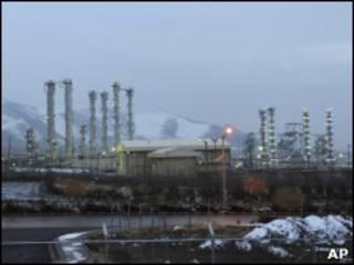 Одно из иранских ядерных предприятий
