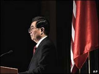 Ông Hồ Cẩm Đào kêu gọi hai nước đẩy mạnh hợp tác kinh tế và an ninh