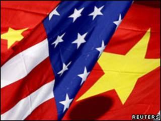 中美國旗(17/01/2011)