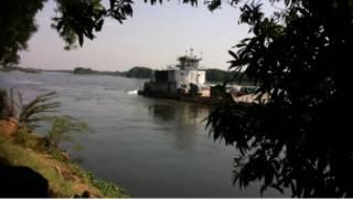 مشهد من النيل في الخرطوم