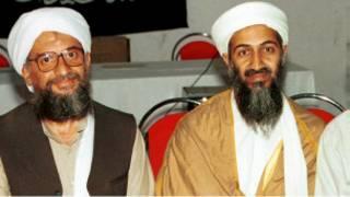 بن لادن والظواهري