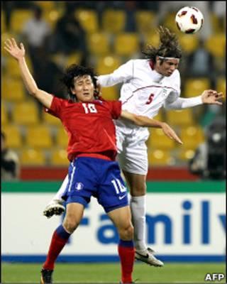 فوتبال ایران و کره جنوبی