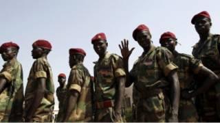 جنود الجيش الشعبي لتحرير السودان