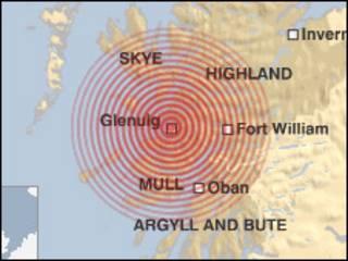 苏格兰 地震