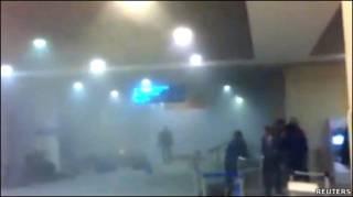 Pemboman di bandara Moskow