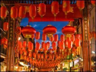 伦敦中国春节