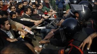 تجمعات ضد دولتی در مصر