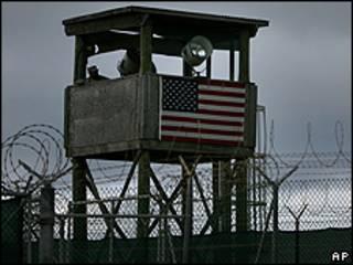 Guarita da prisão de Guantánamo