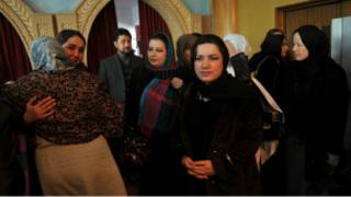 أعضاء في البرلمان الأفغاني