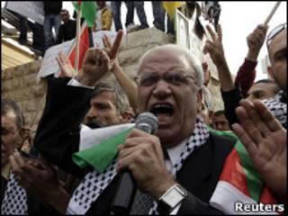 صائب عریقات، مذاکره کننده ارشد فلسطینی