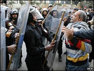 Manifestação no Cairo (AFP)