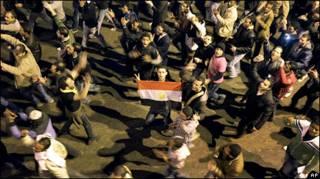 Biểu tình tại Cairo hôm ̉/đă