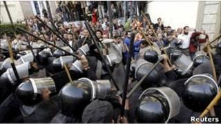 مظاهرات القاهرة