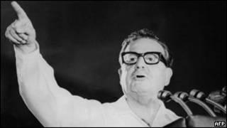 Ex presidente chileno Salvador Allende