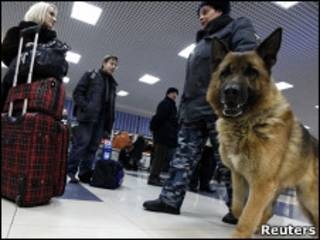 Милиционер в Домодедове