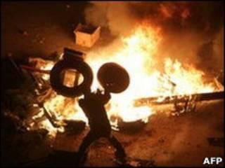 埃及蘇伊士示威