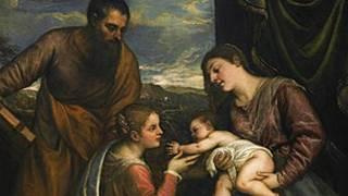 لوحة العذراء والطفل