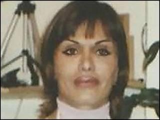Zahra Bahrami (foto usada em campanhas)