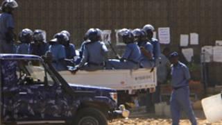 الشرطة السودانية (30 يناير 2011)