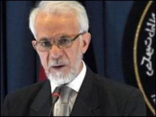 گل رحمان قاضی، رئیس کمیسیون نظارت بر قانون اساسی