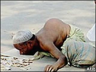 Нищий в Бангладеш