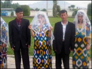 Таджикские невесты